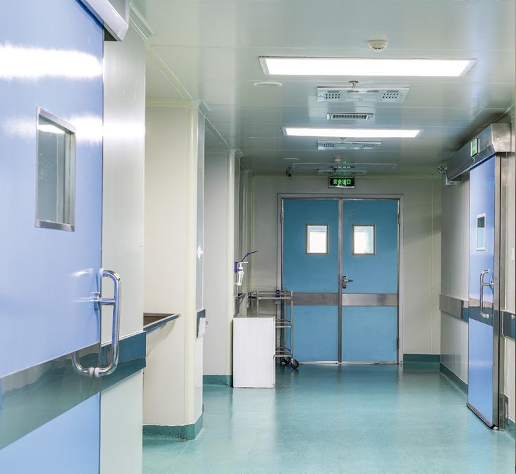 Portes pour hôpitaux