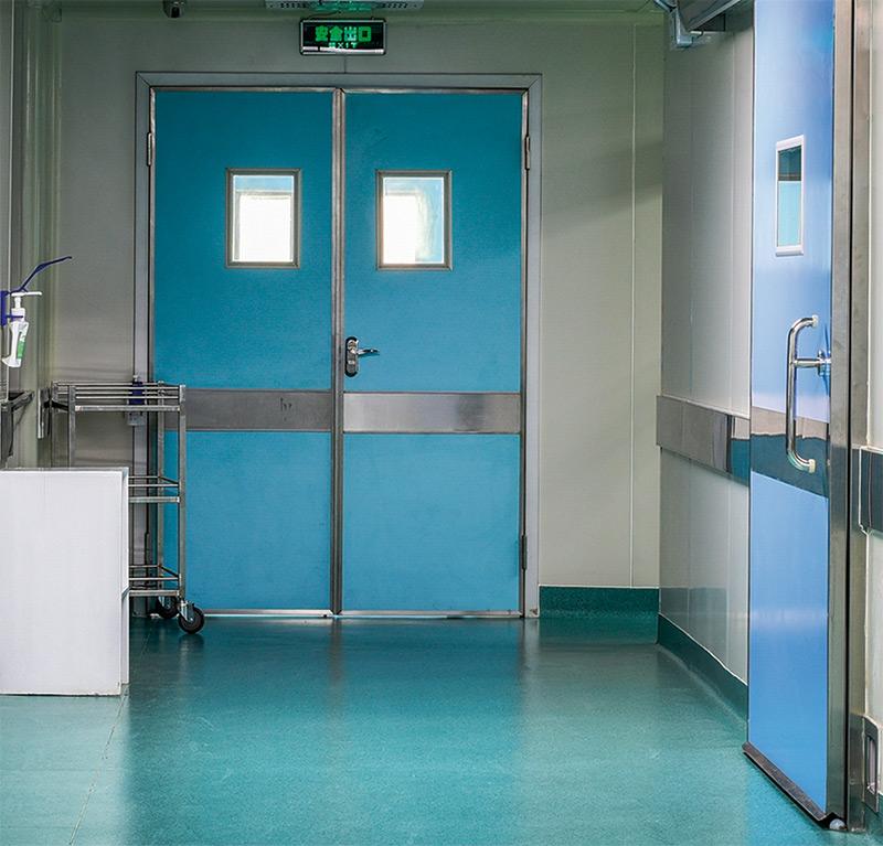 Hospitales, edificios públicos